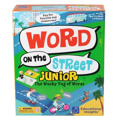 EDUCATIONAL INSIGHTS Word on the Street Jr. Game