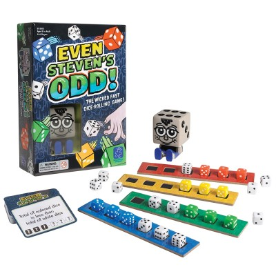 EDUCATIONAL INSIGHTS Even Steven's Odd!  Game