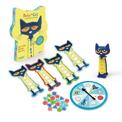 EDUCATIONAL INSIGHTS Pete the Cat I Love My Buttons Game