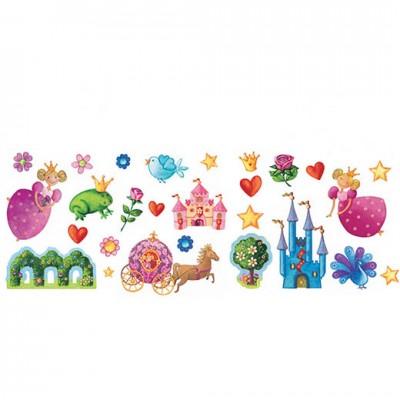 DJECO Wall Stickers Princess Marguerite