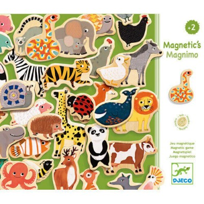 DJECO Magnimo - Wooden Magnetic