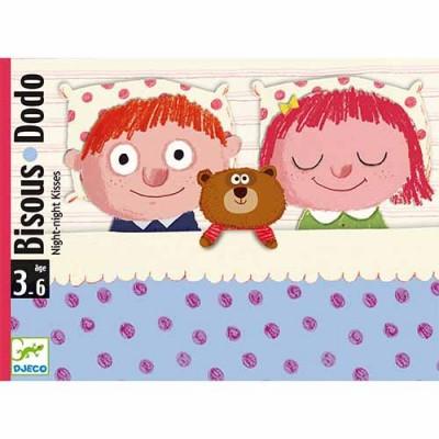 DJECO Bisou Dodo 'Night night kisses' Card Game