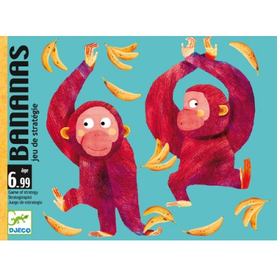 DJECO Bananas Card Game