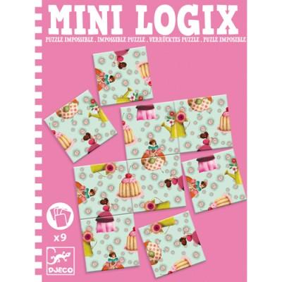 DJECO Puzzle Impossible Princesses - Mini Games