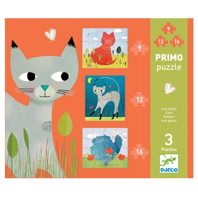 DJECO Primo Puzzle - Cats