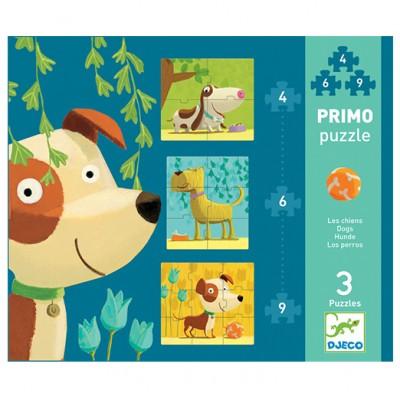 DJECO Primo Puzzle - Dogs