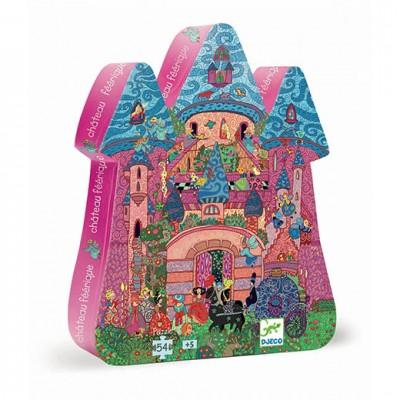 DJECO Silhouette Puzzle - The Fairy Castle