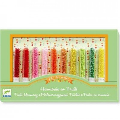 DJECO Glass Beads Fruits Harmony