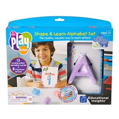 EDUCATIONAL INSIGHTS Playfoam Shape & Learn Alphabet Set