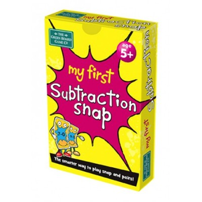GREEN BOARD GAME CO Snap My First Subtraction