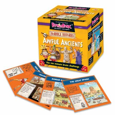 GREEN BOARD GAME CO  BrainBox Horrible Histories Awful Ancients