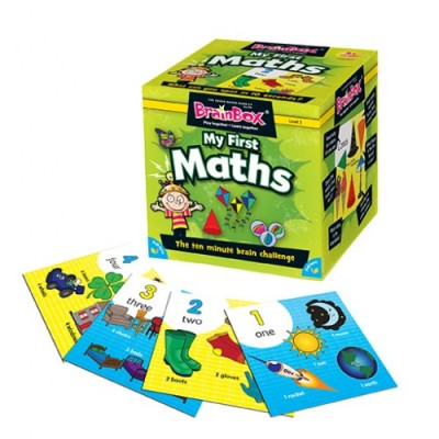GREEN BOARD GAME CO Brainbox My First Maths