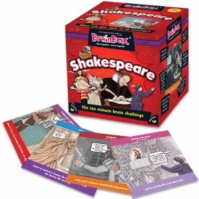 GREEN BOARD GAME CO BrainBox Shakespeare