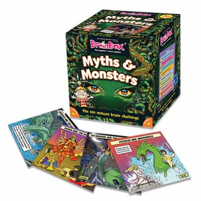 GREEN BOARD GAME CO BrainBox Myths & Monsters