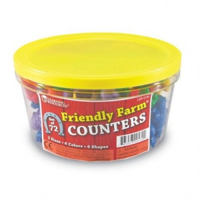 LEARNING RESOURCES Friendly Farm Counters