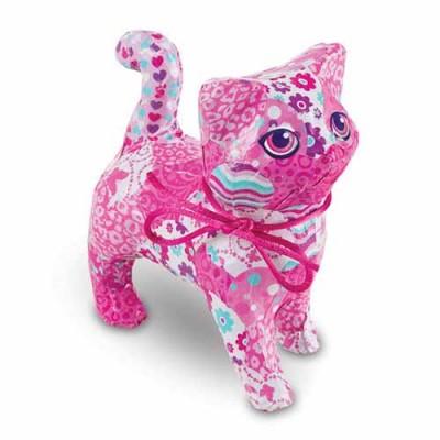 MELISSA & DOUG Decoupage Made Easy Craft Set - Kitten