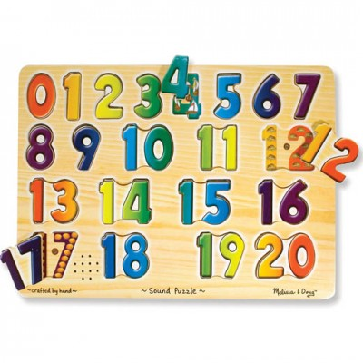 MELISSA & DOUG Number Sound Puzzle