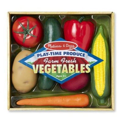 MELISSA & DOUG Play Time Produce Vegetables