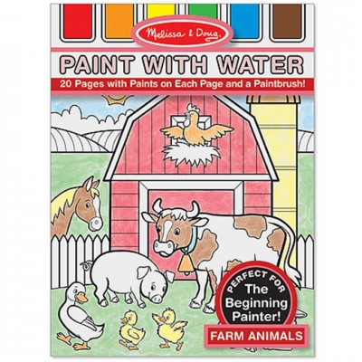 MELISSA & DOUG Paint with Water Farm