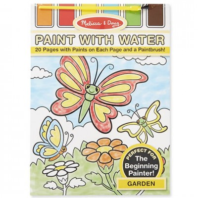 MELISSA & DOUG Paint with Water Garden