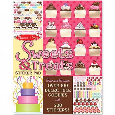 MELISSA & DOUG Sticker Pad - Sweets & Treats