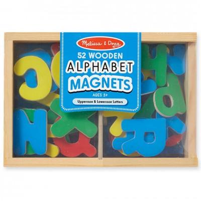 MELISSA & DOUG Magnetic Wooden Alphabet