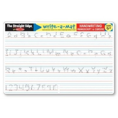 MELISSA & DOUG Handwriting Write-a-Mat
