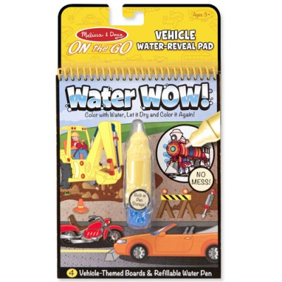 MELISSA & DOUG Water Wow! Vehicles