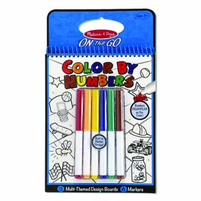 MELISSA & DOUG Colour By Numbers - Blue