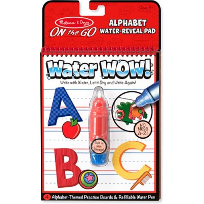 MELISSA & DOUG Water Wow! Letters
