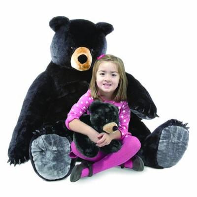 MELISSA & DOUG Black Bear and Cub - Plush