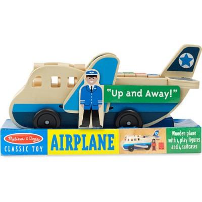 MELISSA & DOUG Wooden Airplane Set