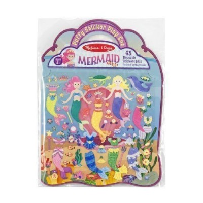 MELISSA & DOUG Puffy Stickers - Mermaid