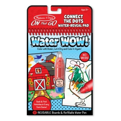 MELISSA & DOUG Water Wow! Farm Connect The Dot