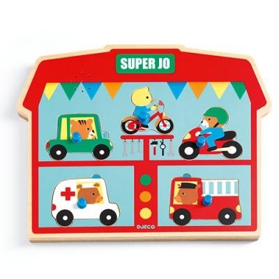 DJECO Super Jo Sound Puzzle
