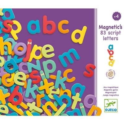 DJECO Magnetic 83 Script Letters
