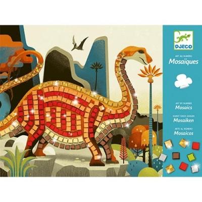 DJECO Dinosaurs Mosaics