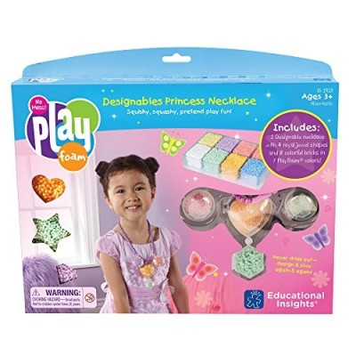 EDUCATIONAL INSIGHTS Playfoam Designables Princess Necklace