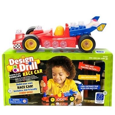EDUCATIONAL INSIGHTS Design & Drill Race Car