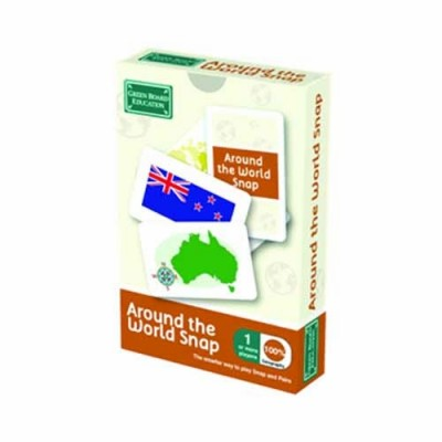 GREEN BOARD GAME CO Around The World Snap (Pack1)