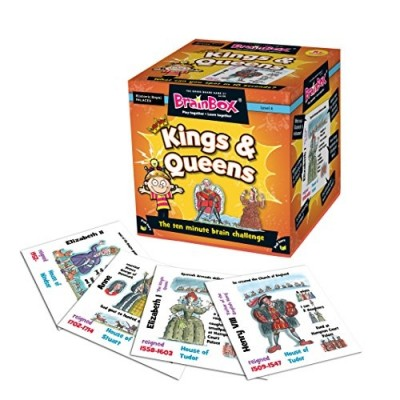 GREEN BOARD GAME CO BrainBox Kings and Queens
