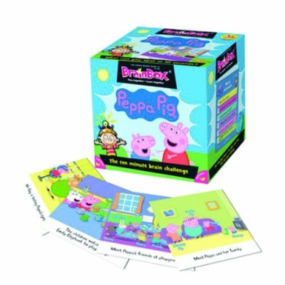 GREEN BOARD GAME CO BrainBox Peppa Pig