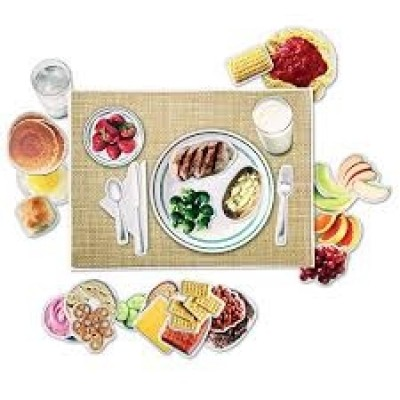 LEARNING RESOURCES Magnetic Healthy Foods