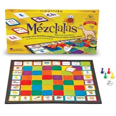 LEARNING RESOURCES ¡Mézclalas! (Mix It Up!) Game