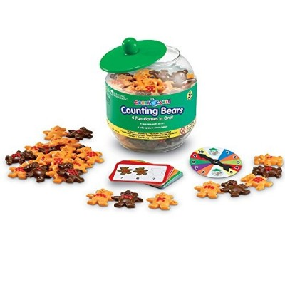 LEARNING RESOURCES Goodie Games Counting Bears