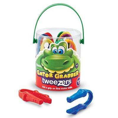 LEARNING RESOURCES Gator Grabber Tweezers (Set/12)