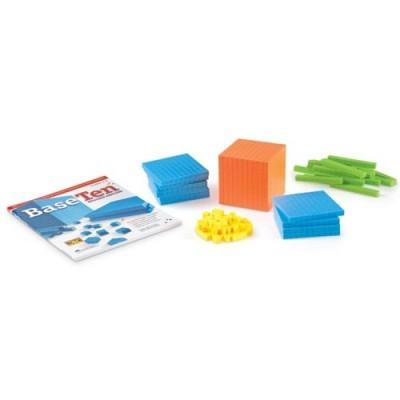 LEARNING RESOURCES Brights! Base Ten Starter Set