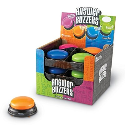 LEARNING RESOURCES Answer Buzzers, Set of 12