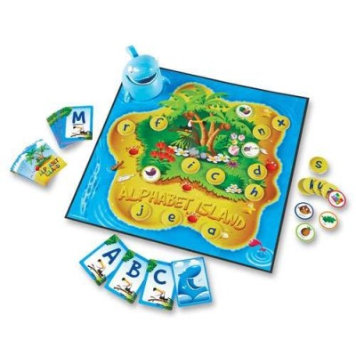 LEARNING RESOURCES Alphabet Island - A Letters & Sounds Game
