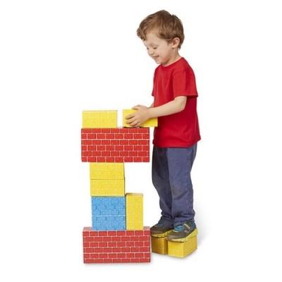 MELISSA & DOUG Jumbo Cardboard Blocks - 24 Pieces